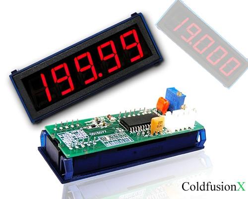 Digital DC Ammeter 20A Red LED Panel Amp Meter Digital Electricity Meter 20